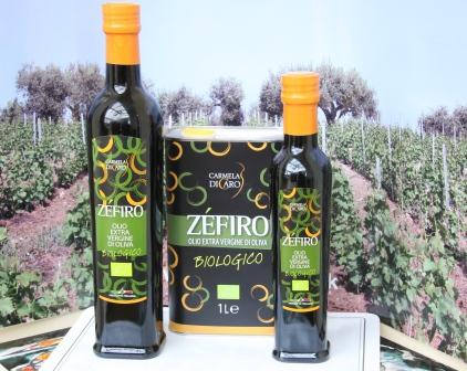 Zefiro Biologico Olive Oil