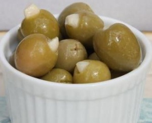 Garlic Stuffed Green olives